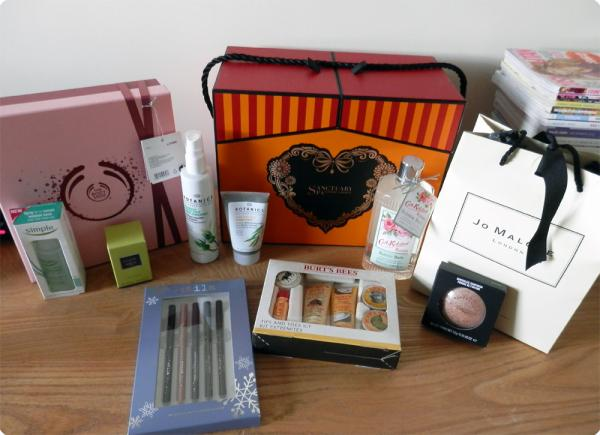 2012 Beauty Gifts