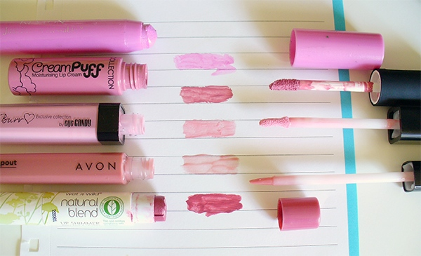 Favourite Pink Lip Products