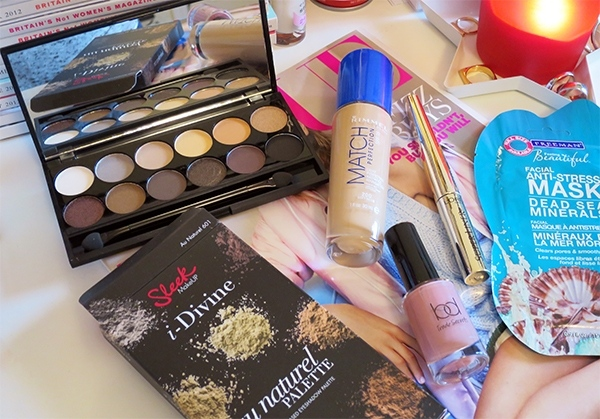 Tesco Beauty Purchases