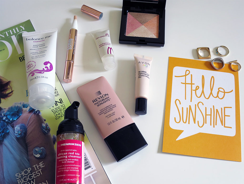 Favourite Brightening Products