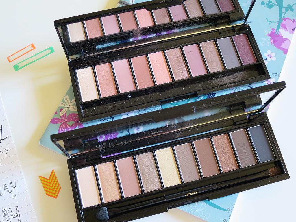 LOreal La Palette Nude Eyeshadows