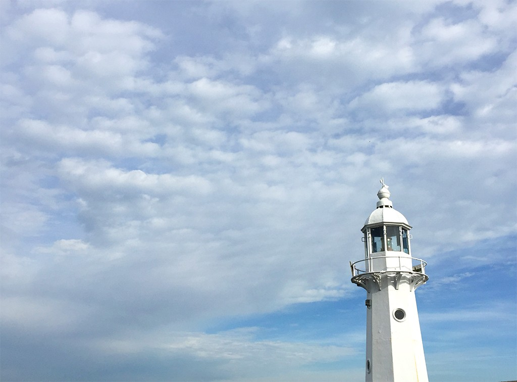 Lighthouse at Mevagissey