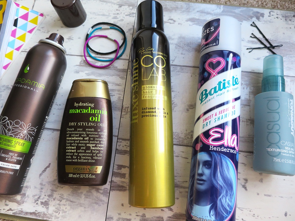 Hair products for in between washes