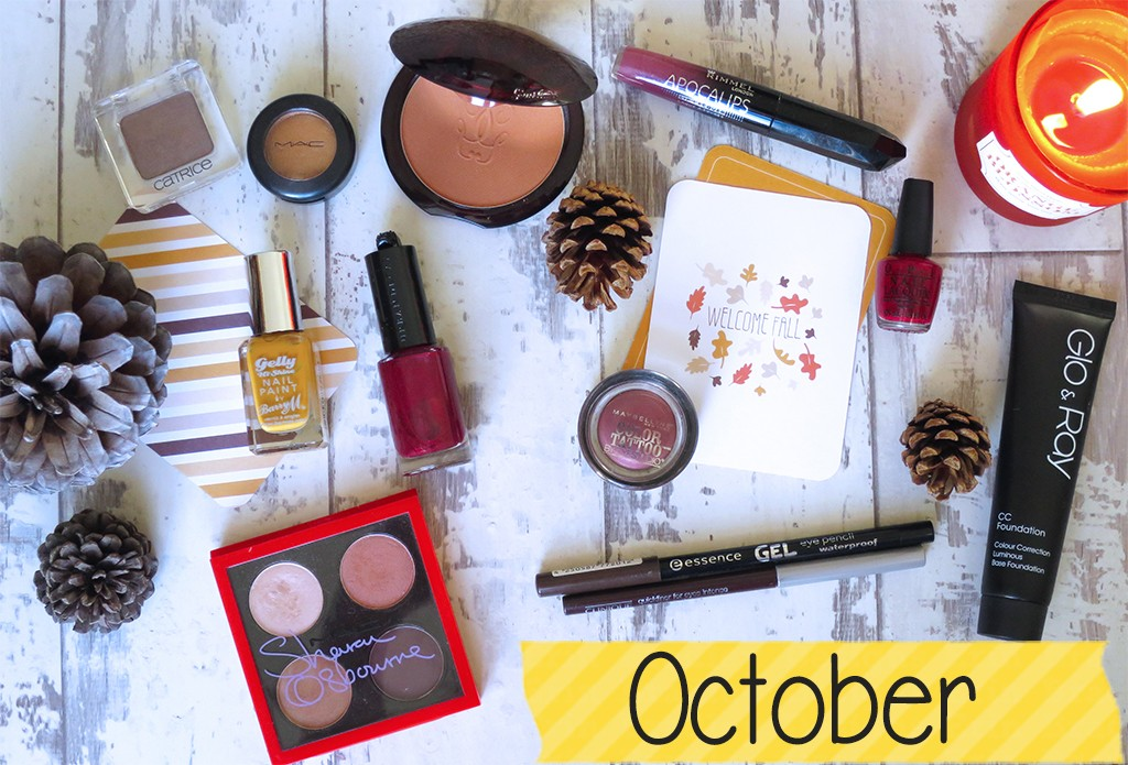 Autumnal Makeup Favourites