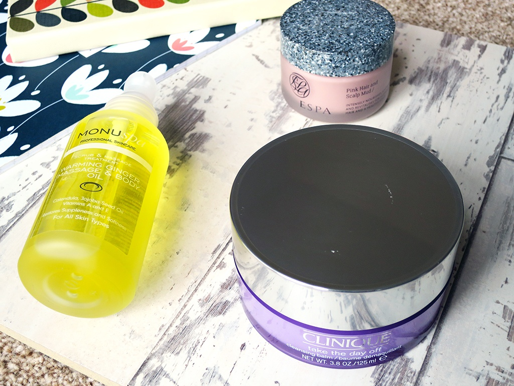 January Pamper Session Products