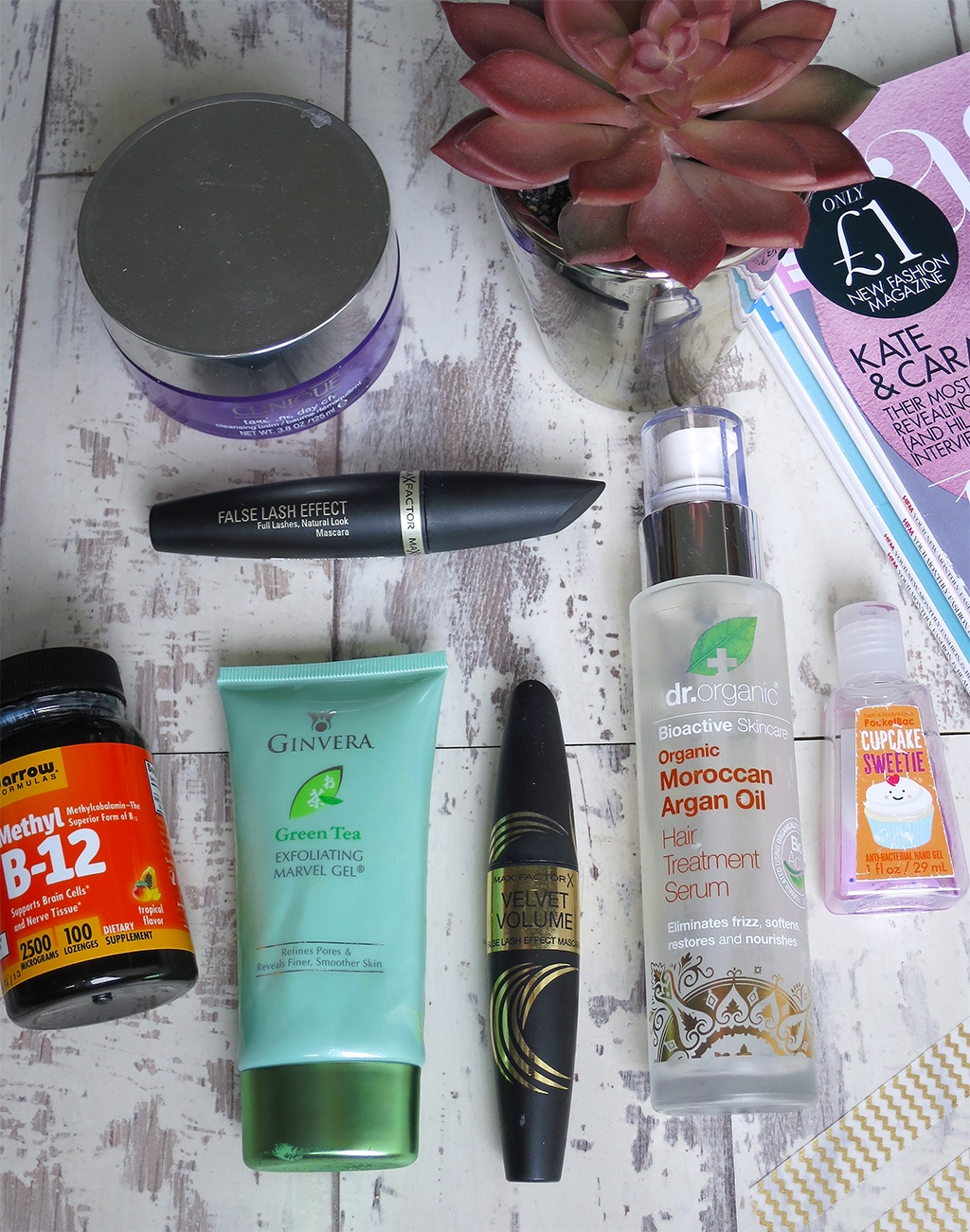 Empties Aug / Sept 2016