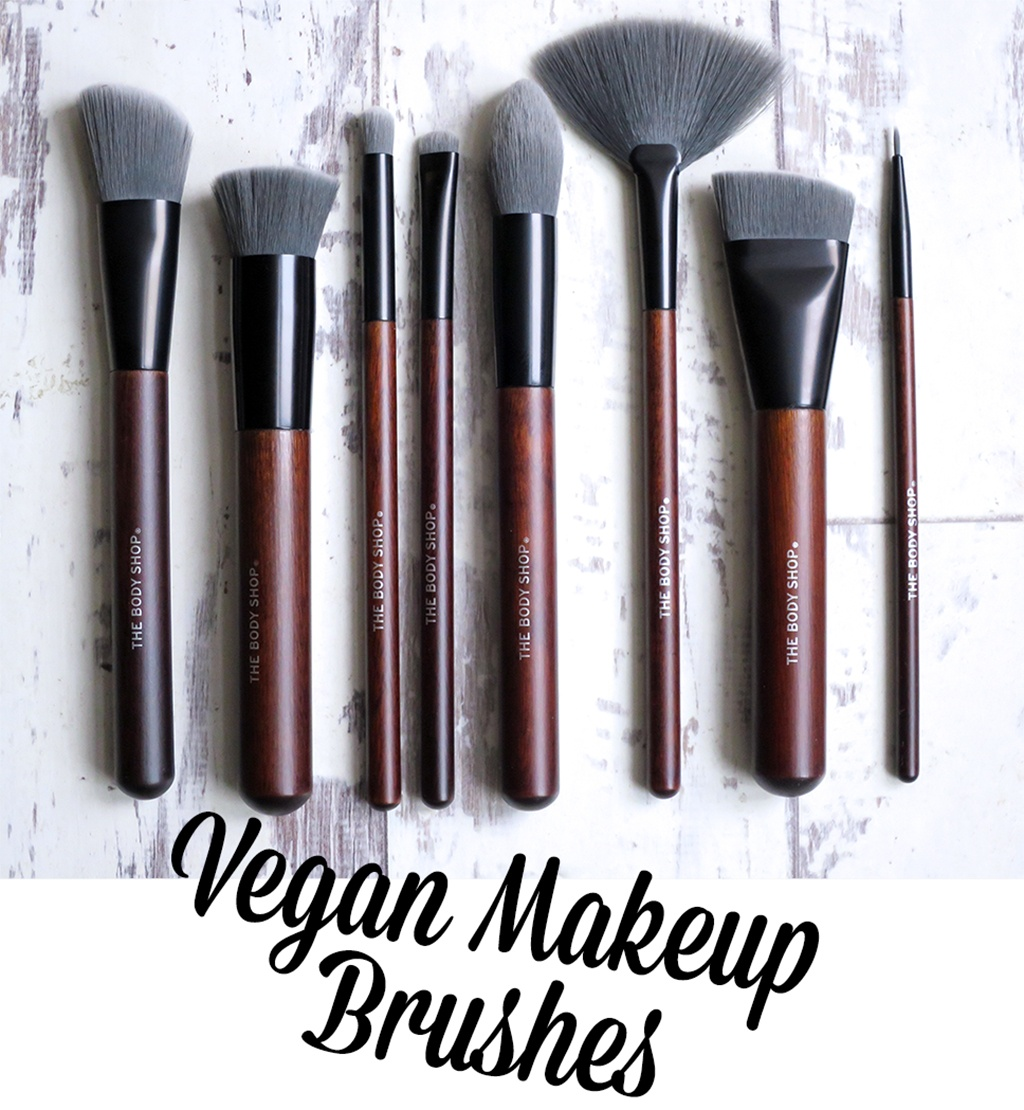 The Body Shop Vegan Brushes