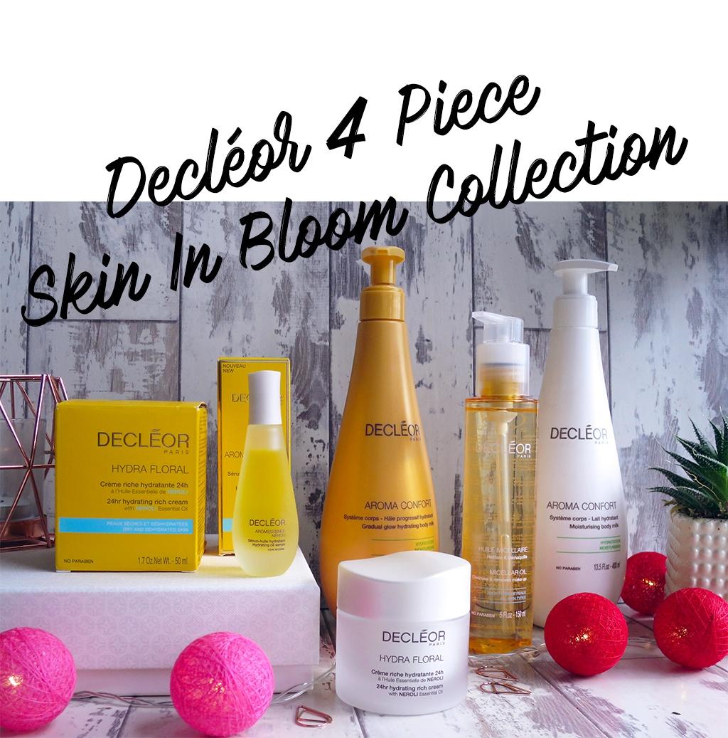 Decleor 4 Piece Skin in Bloom QVC TSV