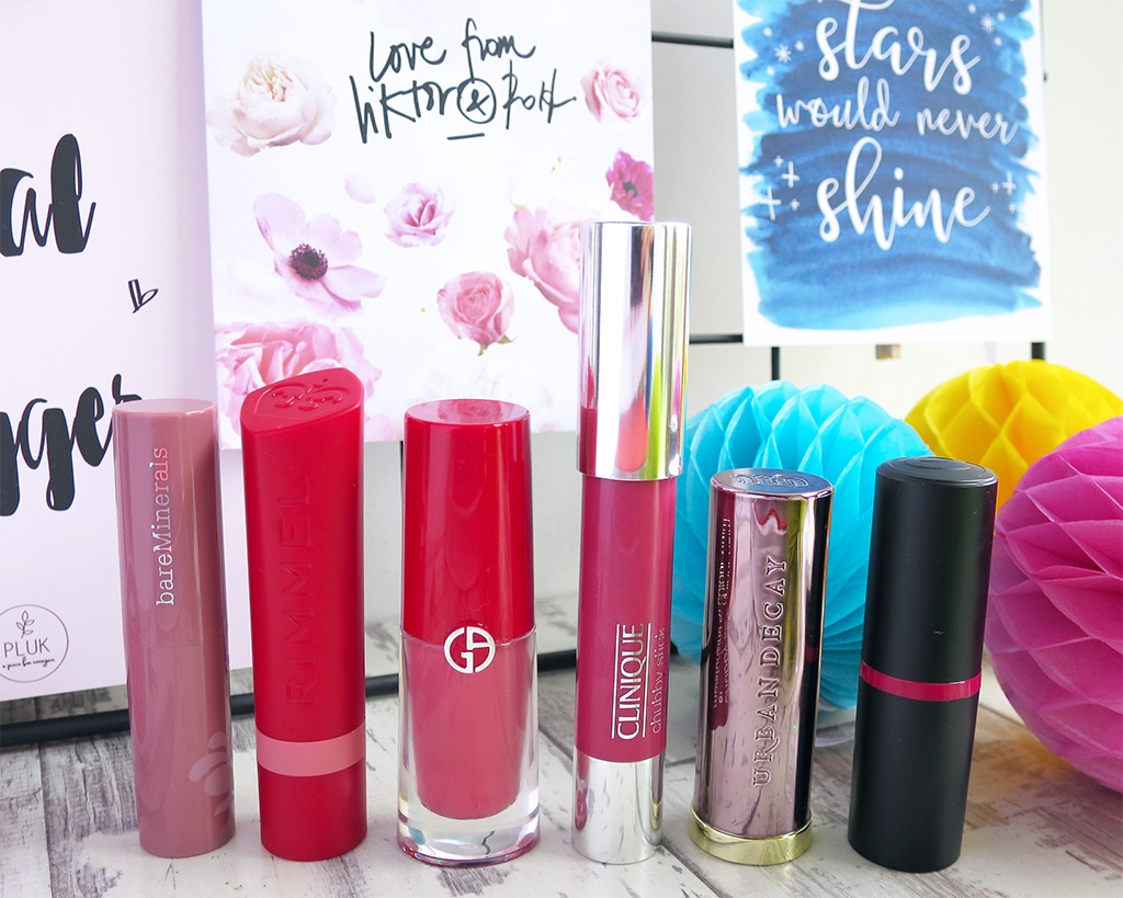Spring 2017 Lipstick Favourites