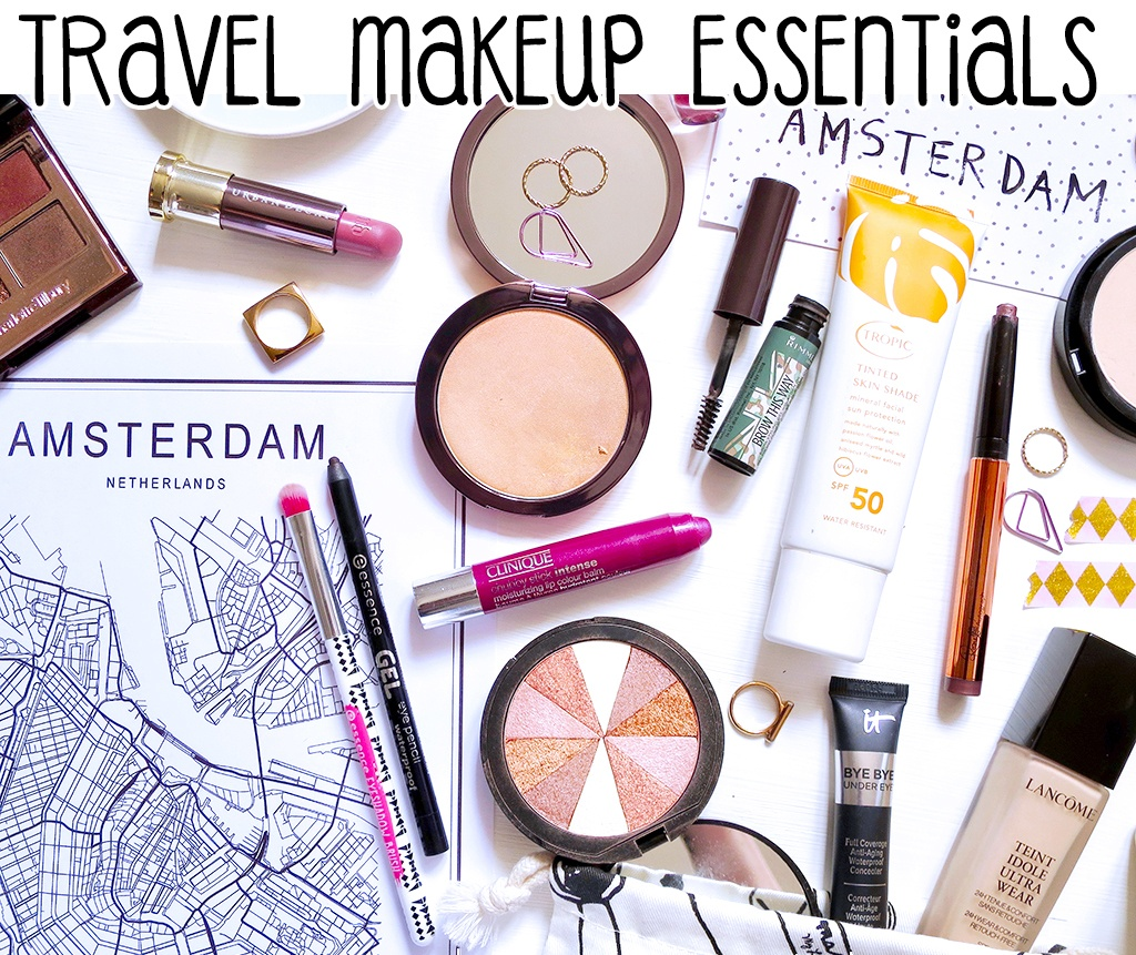 My Travel Makeup Bag Essentials