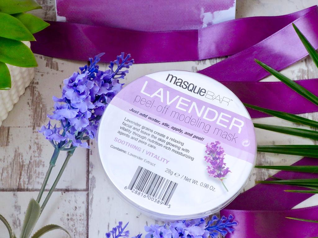 masque bar lavender peel off mask