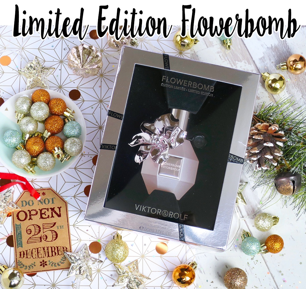 Flowerbomb holiday edition 2018 perfume for women by viktor & rolf.