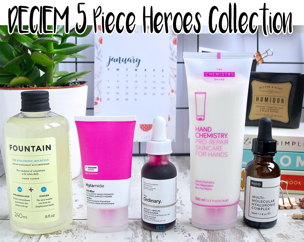 QVC TSV DECIEM 5 Piece Heroes Skincare Collection