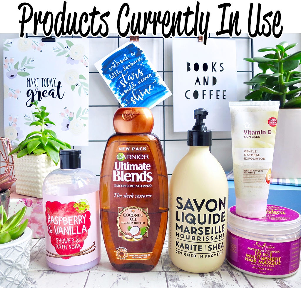 Skin Care Products Currently In Use 9